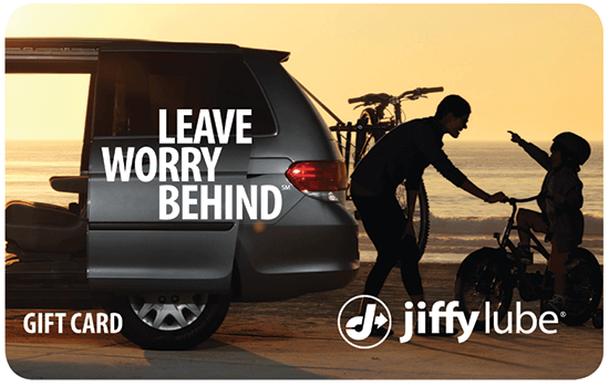 Leave Worry Behind, gift card