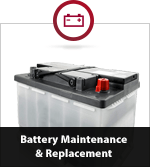 Battery Maintenance & Replacement